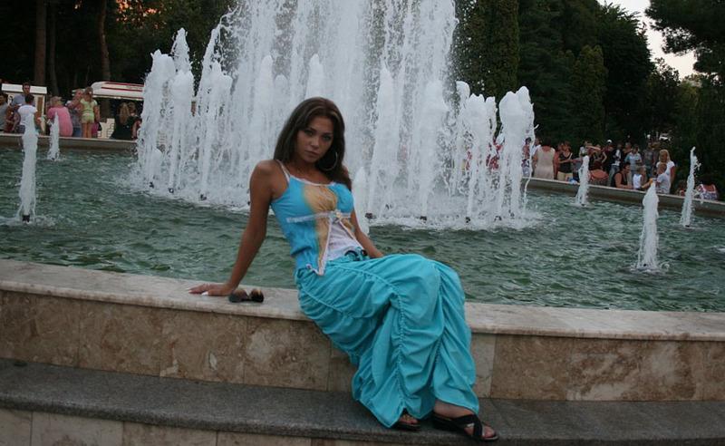 Одесская милашка на берегу черного моря